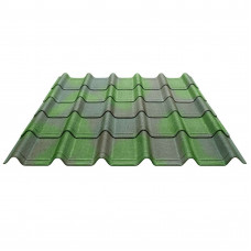 Черепица Ондувилла зеленая 1060*400мм