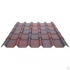 Черепица Ондувилла коричневая 1060*400мм