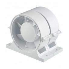 Вентилятор осевой приточно-вытяжной D -100 канальный с двигателем на ш/п