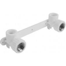 Комплект настенный д/смесителя Д20*1/2 ВР бел SPK